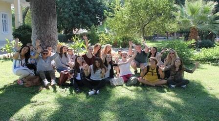 Students at Ege University