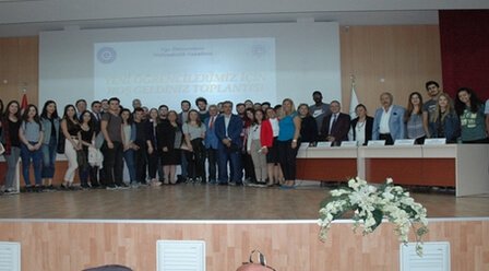 Ceremony at Ege University
