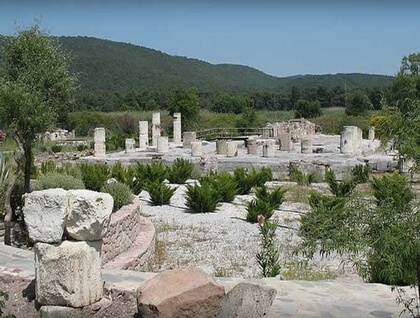Messa archaiological site