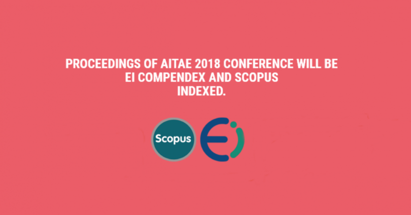Proceedings of AITAE Conference indexed by Scopus and EI Compendex