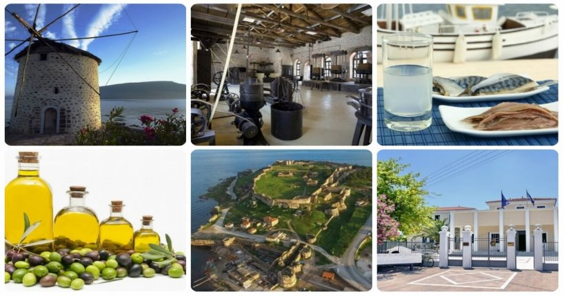 Various images of Lesvos island