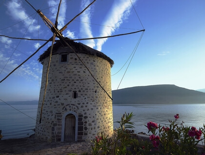 Windmill at Gera Perama